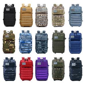 Outdoor Travel Climbing Hiking Backpack Hunting Army 45L Waterproof Custom Mochila Rucksack Military Tactical Bag Backpack