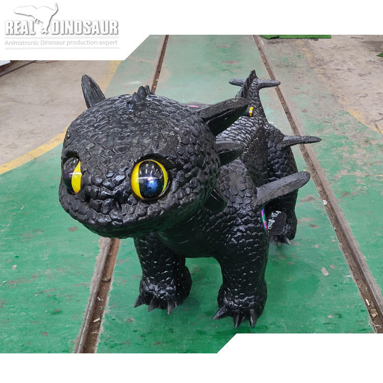 cartoon walking animal ride dragon toy car for entertainment