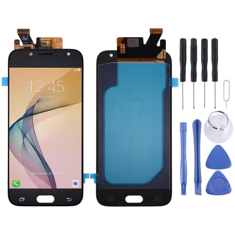 Hot Selling Oled Material LCD Screen and Digitizer Full Assembly for Galaxy J5 (2017), J530F/DS, J530Y/DS(Black)