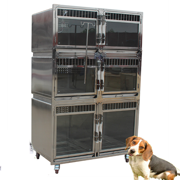 Good Price Hospital Stainless Steel Dog Cages Small Rabbit Cages
