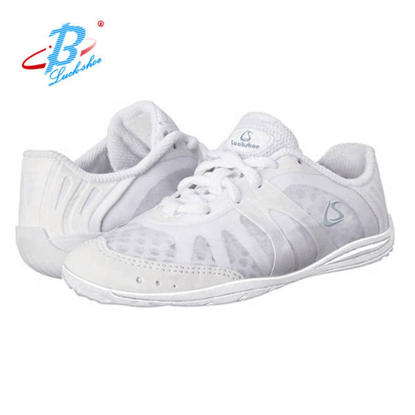 2019 Pure white cheerleading shoes campus cheer shoes