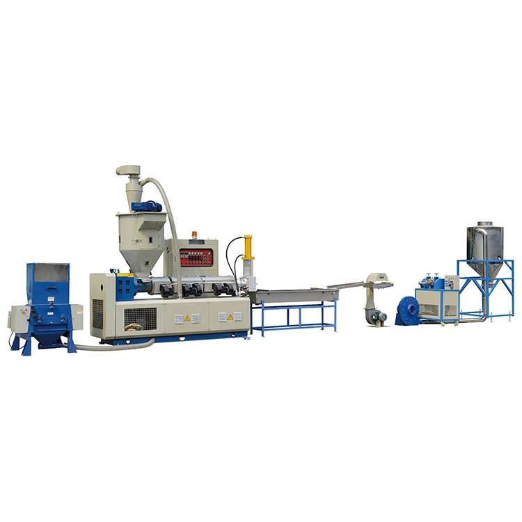 fully automatic waste film bottle plastic recycling machine small scale single screw hdpe pvc cost of plastic recycling machine