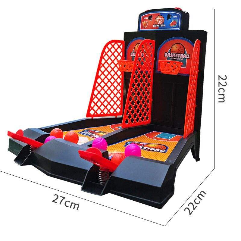 2020 Best SellerFactory price Desk Finger Basketball Shooting Games for Kids Indoor and Outdoor Educational Game