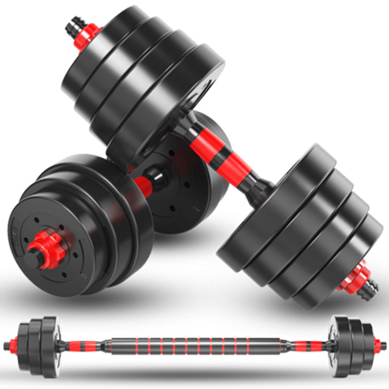 GYM Fitness Home Equipment 40kg Dumbbell Weights Set Adjustable Barbell Set Wholesale