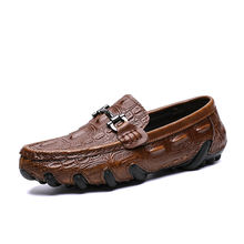 New fashion Customized size casual mocassin comfortable  loafer shoes for men
