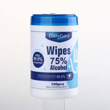 100pcs barrels  alcohol disenfecting cleaning Alcohol Wipes