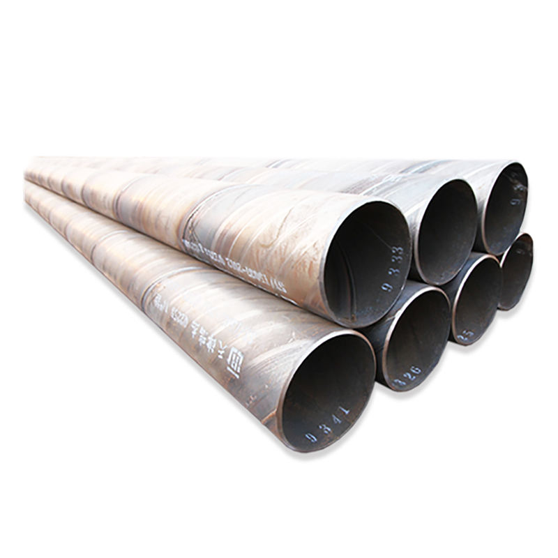 600mm diameter drainage steel pipe ssaw spiral welded steel line pipe and oil pipeline