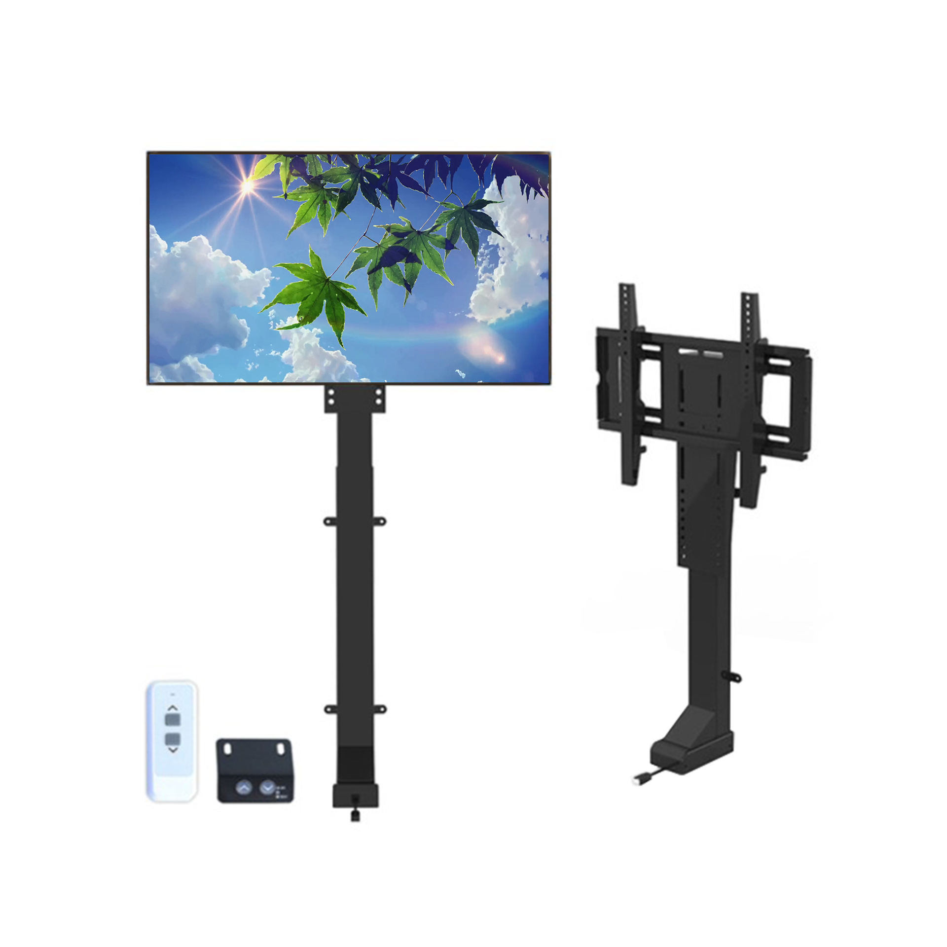 Automations - Motorized Vertical Motorised Tv Manual Lift Tv