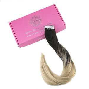 factory price natural color remy tape hair extension human hair