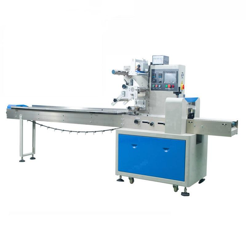 Heat Sealing Automatic Flow Candy/Ice Cream/Popsicle Packing Machine