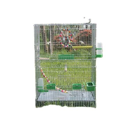 Large scale heightening breeding cage for Parakeet