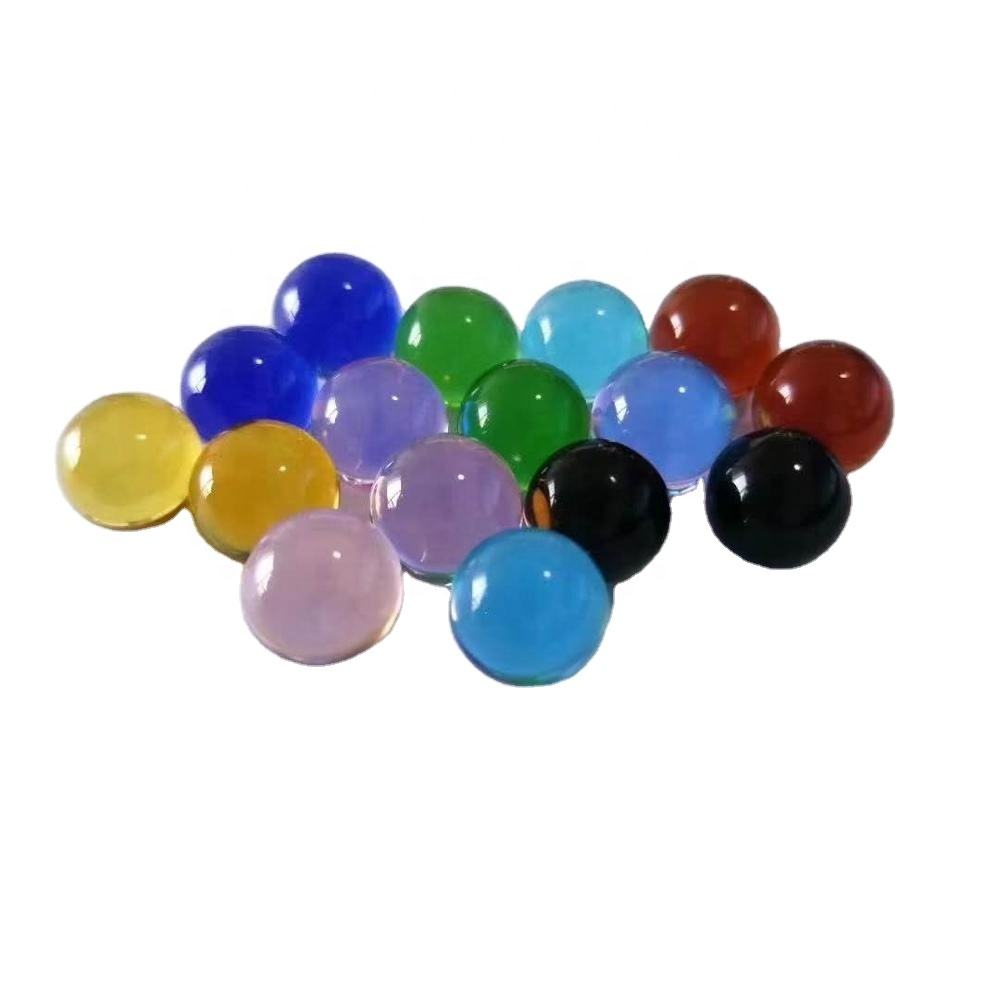 Hot sale 4mm 6mm 8mm 10mm 12mm colorful glass ball for decoration