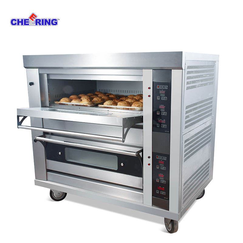 Deck Baking Oven Type and bakery machine for bread/pizza/cake