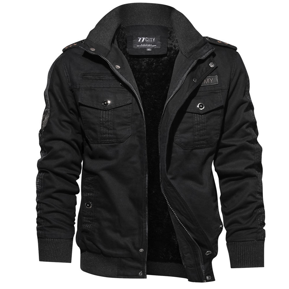 New popular military pilot casual cotton winter jacket, pilot men's jacket