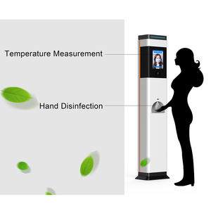 Factory OEM thermal scanner temperature device automatic hand disinfection dispenser