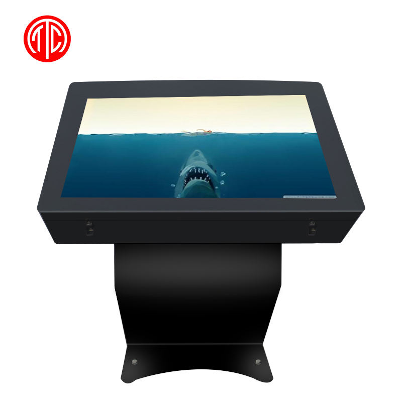 55 pollici Outdoor Display <span class=keywords><strong>LCD</strong></span> Kisok Impermeabile Touch Screen con SISTEMA OPERATIVO Android