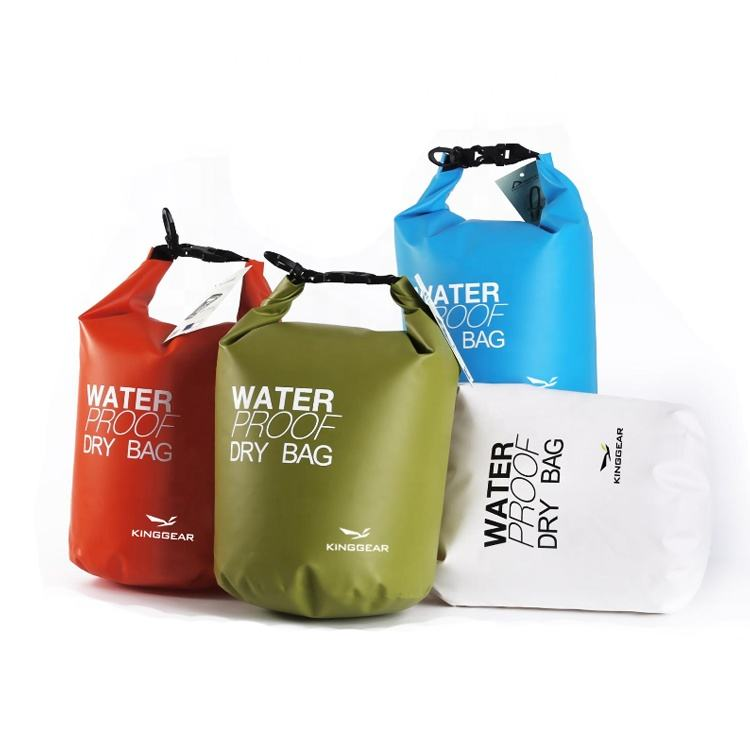 Wholesale Outdoor water sports Gear Dry Backpacks Camouflage 250D PVC Waterproof Bags for Kayaking Camping Floating