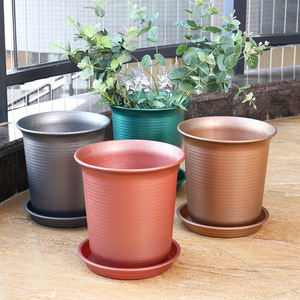Gardening Graceful Bonsai Pot Plastic Indoor Outdoor Plastic Pots Garden Grow Factory Hot Sale Flower Pot Planters Garden
