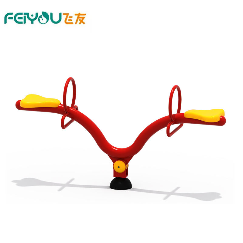 2019 new style indoor&outdoor Kids plastic seesaw for indoor playground kids rocking seesaw