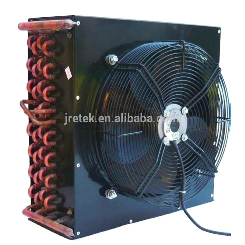 Factory supply 1/2HP refrigerator copper tube air cooler condenser