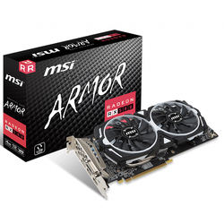 MSI XFX AMD Radeon RX 580 ARMOR 4G 8G Used Gaming Graphics C