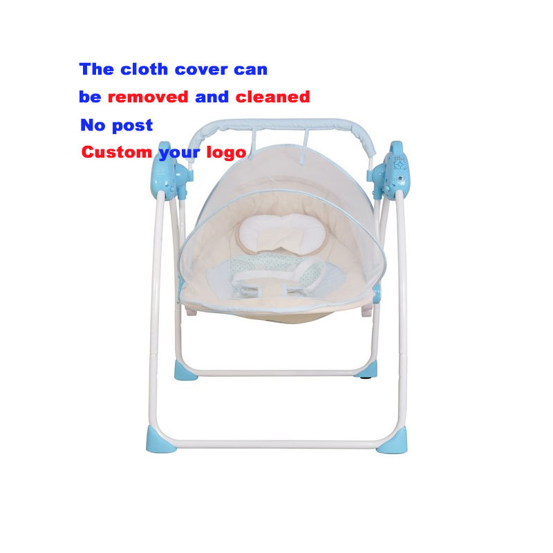 Baby swing cradle 105 cradle chair baby swing bed electronic baby bouncer chair
