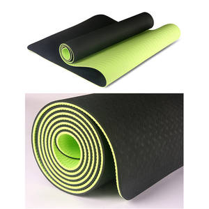 wholesale custom logo position line sweat-absorbent non-slip sports fitness pilates yoga mat