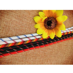 Quality assured fashion round multi coloured shoelaces custom logo trend shoelace