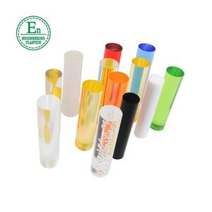 custom colored acrylic bar weather resistance high transparent clear casting /acrylic rod