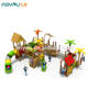 wooden playground outdoor wooden playground wooden playground bridge