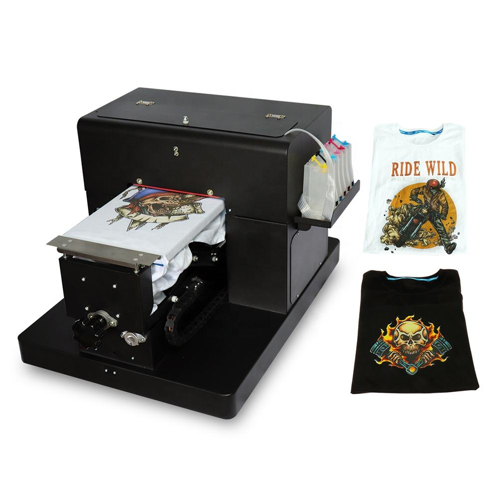Colorsun Mini A4 Flatbed <span class=keywords><strong>Printer</strong></span> Voor Epson L800 Hoofd Dtg Drukmachine A4 T-shirt Dtg <span class=keywords><strong>Printer</strong></span>