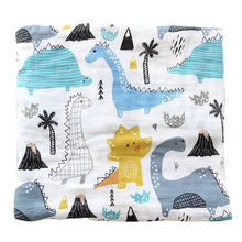 100% Cotton Organic Bamboo Summer Soft Gauze Muslin Fabric Cloth Wraps Baby Blankets