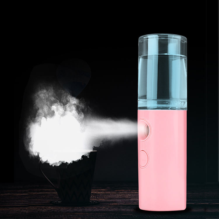 Mist Facial Moisture Mini Steamer Mister Face Bottle Germs Water sanitate Sanitizer Nano Spray Beauty