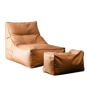 Lazy sofa recliner bean bag removable and washable technical cloth artificial leather sofa cover
