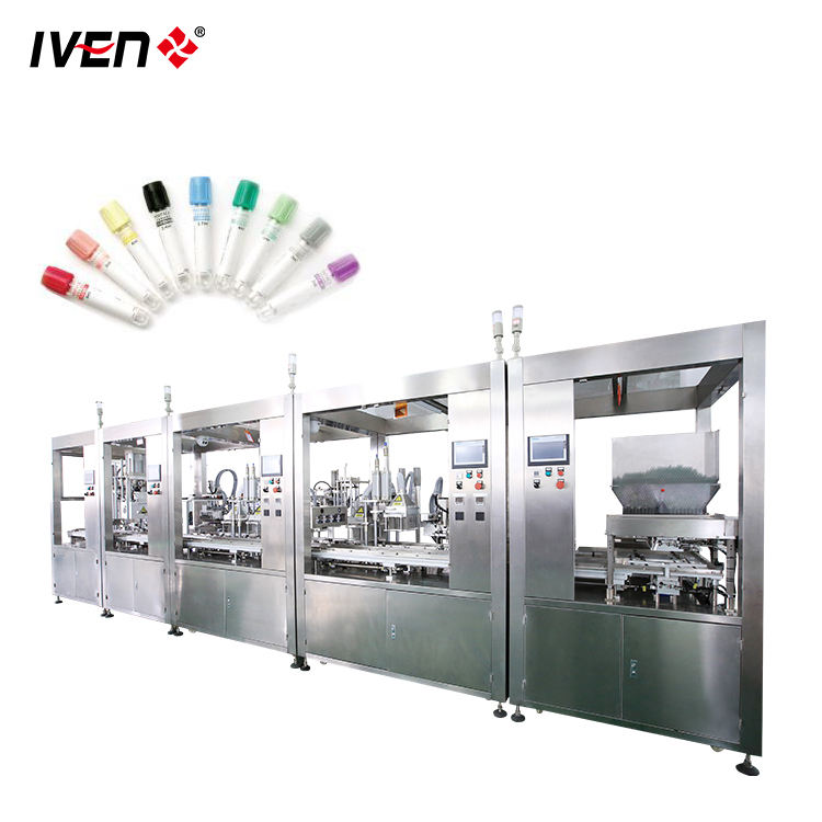 Blood Test Separation Gel Vacuum Blood Collection Tube Assembly Machine