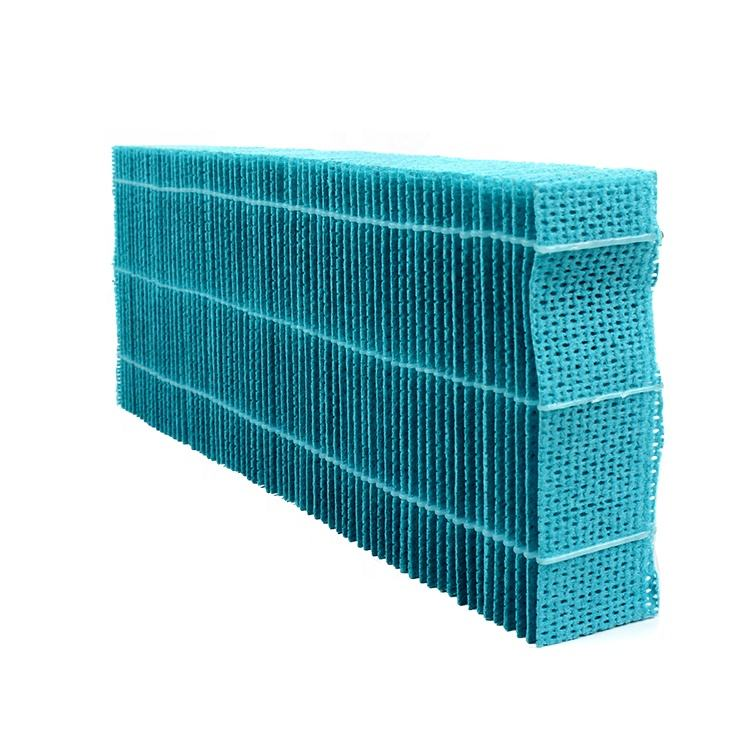 Factory customized humidifier wicking air filter material replacement part