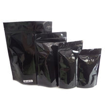 1/8 oz 1/4 oz 1/2 oz 1 oz Black White Heat Seal Mylar Foil Zip Lock Packaging Runtz Small Waterpoof Smell Proof Package Bags