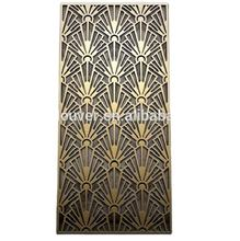 Metal Laser Cut decorative privacy fence