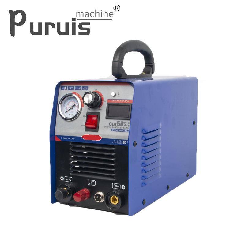 CUT50P cnc air pilot plasma cutting machine IBGT inverter plasma cutter cut 50 pilot machine welding cutter plasma