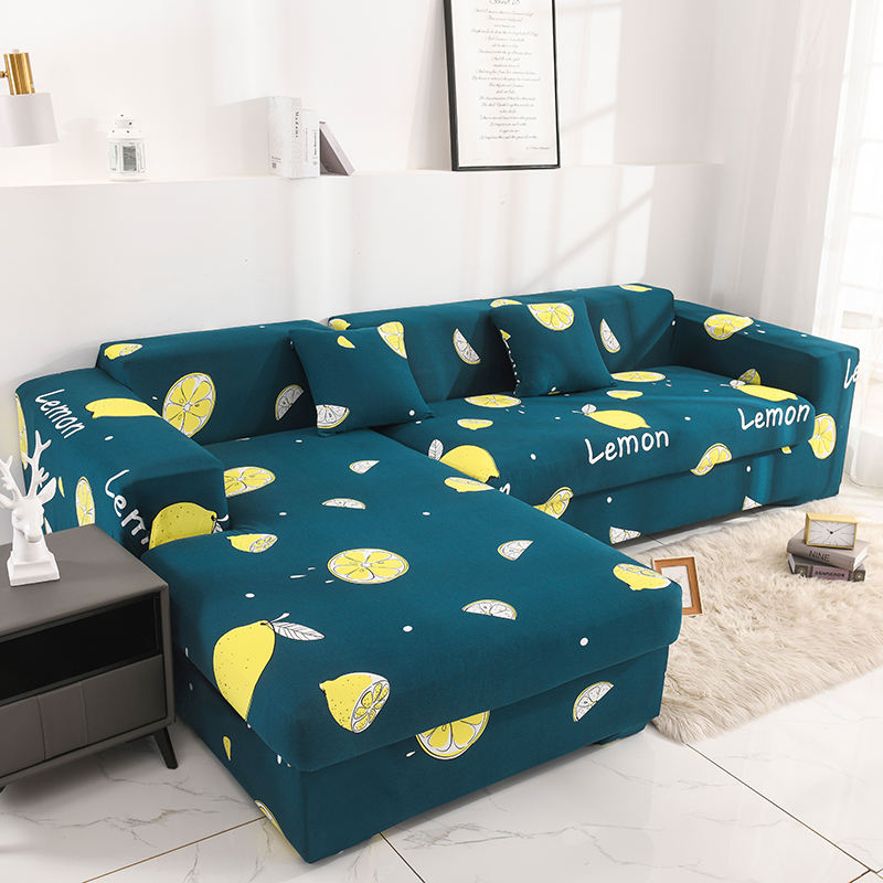 BIRDBLAN drop shipping Factory price for stretch sofa cover set elastic 1-4 people sofa cover slipcover