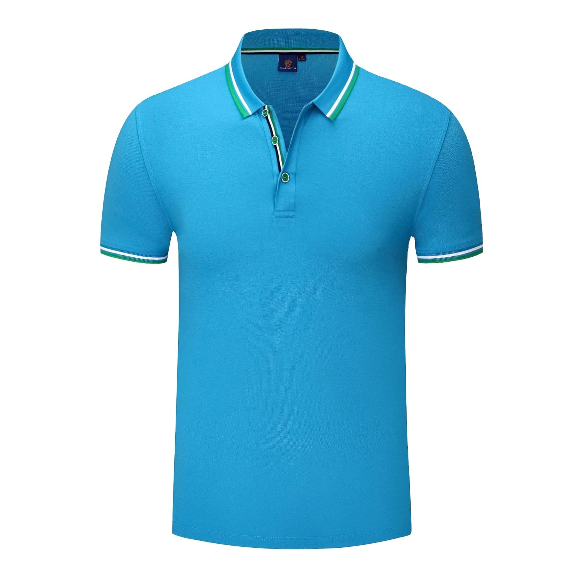 Kaus Formal Polo OEM Kaos Tanpa Logo Day Man Polo Katun/Spandeks 200/220 Gsm