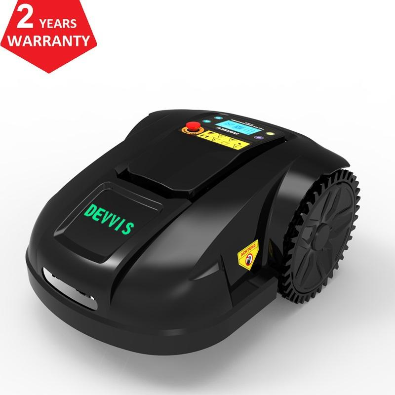 The Latest 6th Generation Smart Robot Lawn Mower E1800T With 6.6AH Li-ion Battery, Gyroscope Navigation