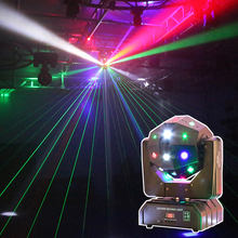 Dj lights for disco beam laser strobe 3in1 led disko ball laser moving head disco ball dj led disco light