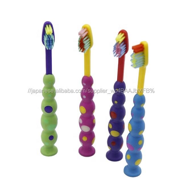 2020 製造 FDA 承認 BSCI 3 + 年 susction カップ拠点かわいい泡歯ブラシ