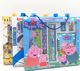 Back to school Stationery Set 8 in 1 student supplies Children's portable stationery gift box learning prizes