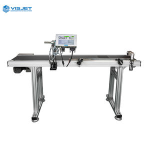 Hot sale automatic spray independent print heads industrial PVC pipe tij inkjet printing machine