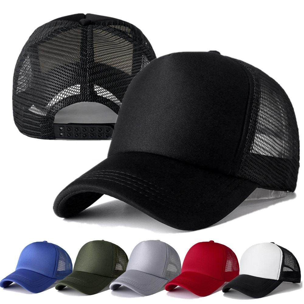 Factory price printed and embroidery High quality customized logo hot sale trucker mesh cap