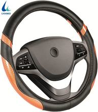 Wholesale PU Leather Anti-slip Car Steering Wheel Cover