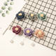 Fashion Muslim Women Wedding Accessories Floral Pearl Pin Brooches Scarf Hijab Pins