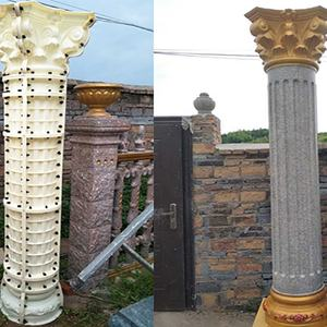 2019 New Design Plastic Roman Column Pillar Mould Decorative For Sale